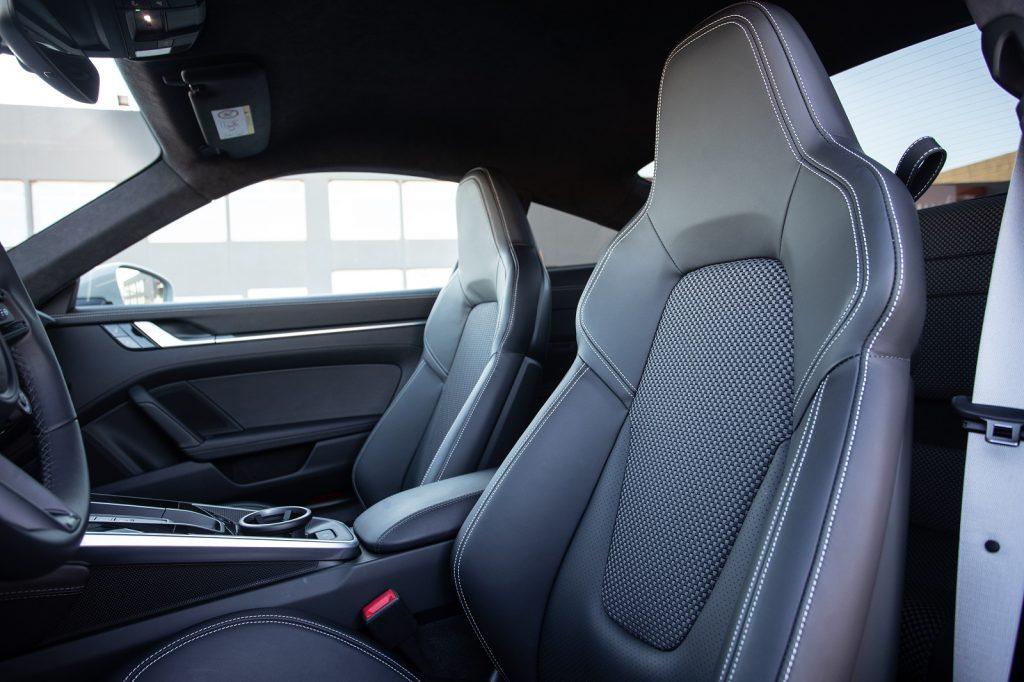 Porsche 911, передение сиденья