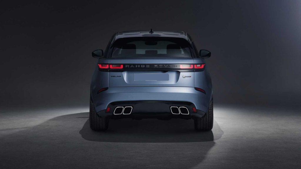Range Rover Velar SV 2019, вид сзади