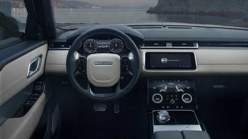 Range Rover Velar SV 2019, салон