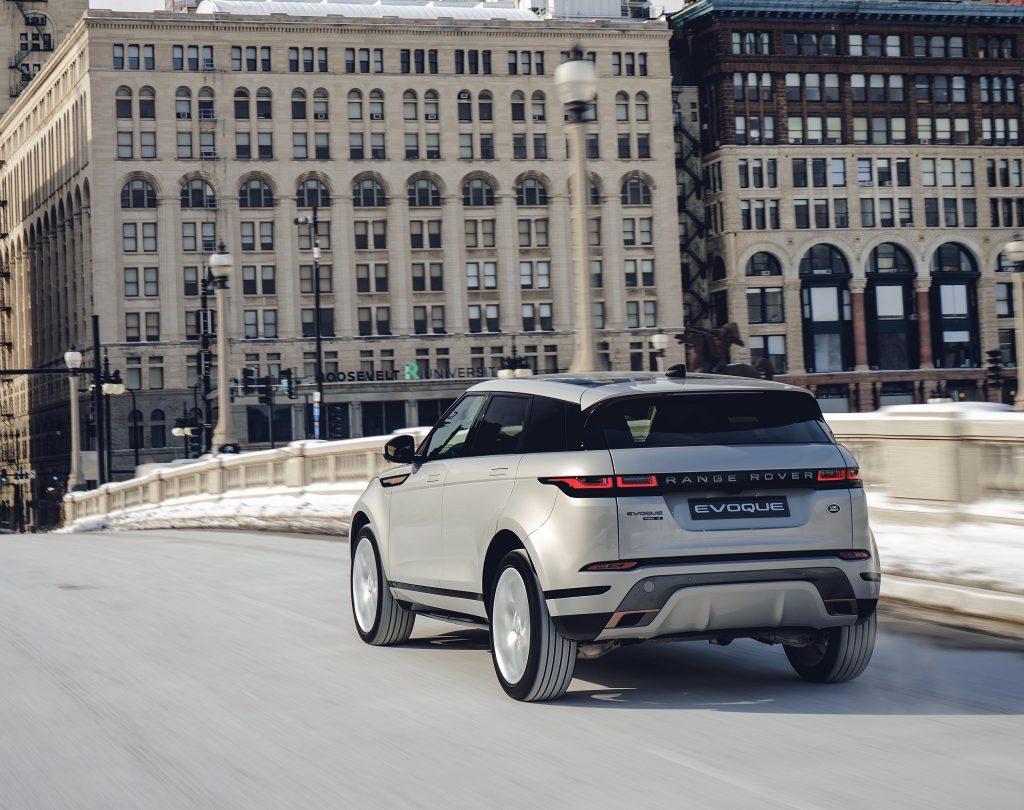 Range Rover Evoque 2019, вид сзади