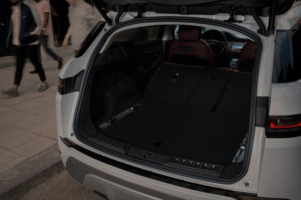 Range Rover Evoque 2019, багажник