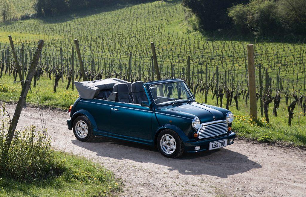 Кабриолет Mini 1993 года
