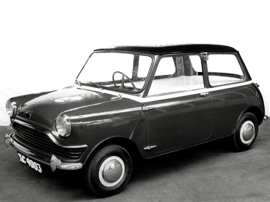 Прототип Mini 1958 года