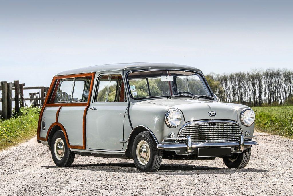 Универсал Austin Mini Countryman 1960 года