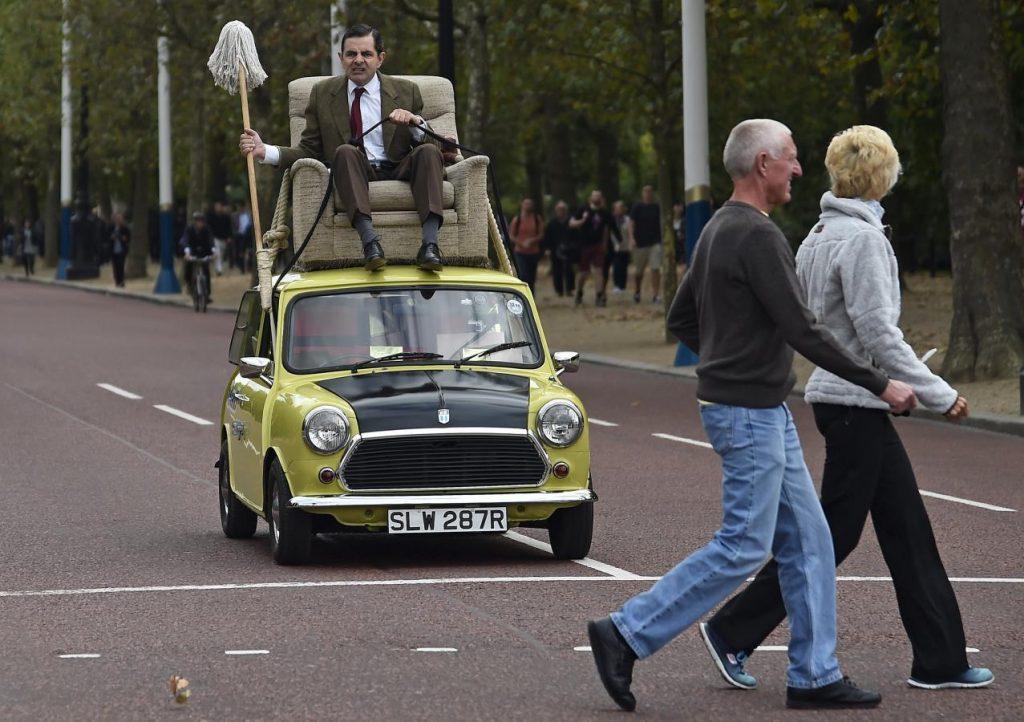 Mini прославился как авто Мистера Бина