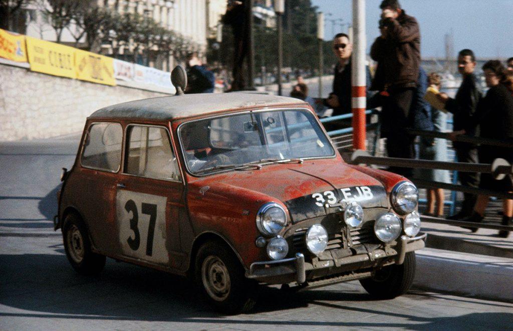 Mini Cooper трижды выигрывал Ралли Монте-Карло