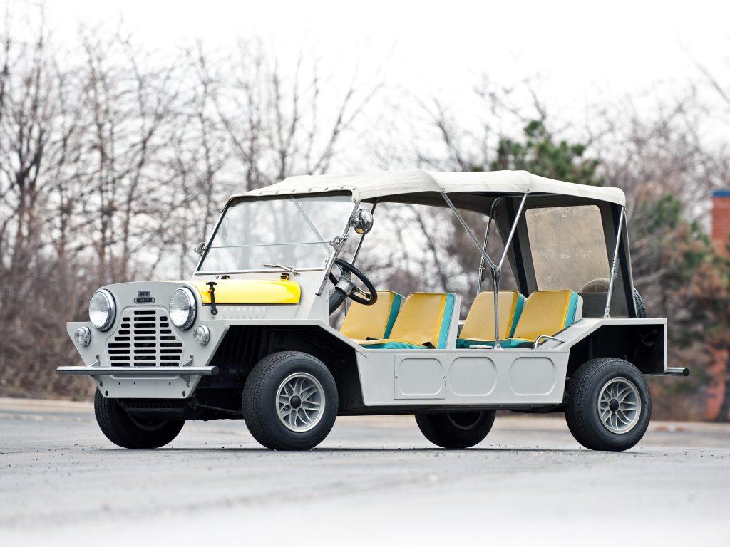 Mini Moke поначалу создавали для армии
