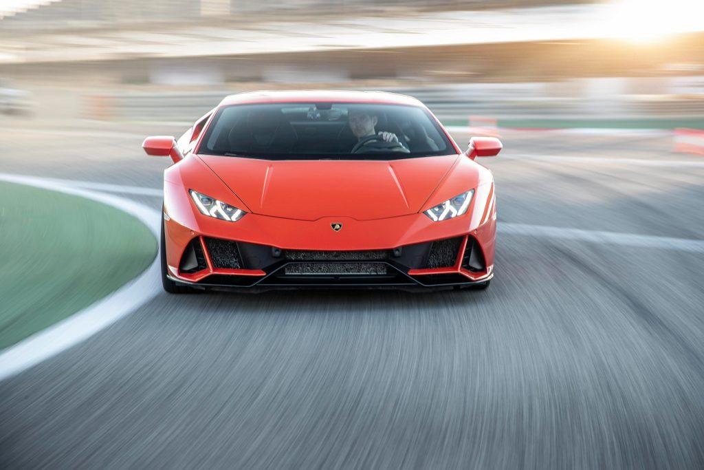 Lamborghini Huracan Evo 2019, вид спереди