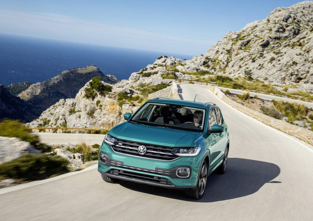 Volkswagen T-Cross 2019, вид спереди