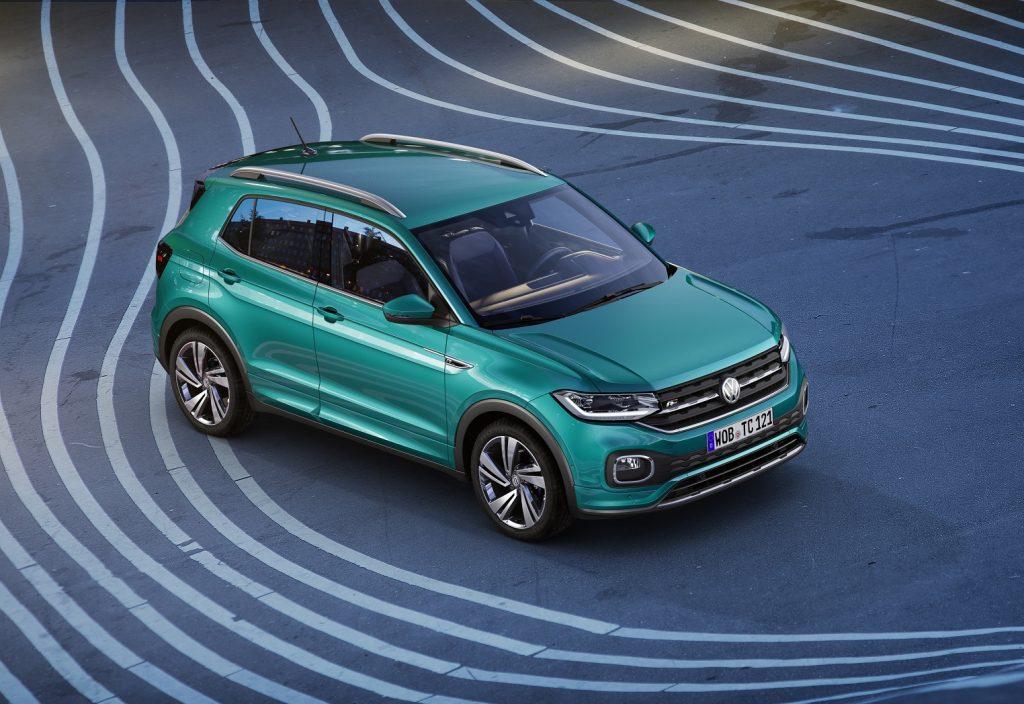 Volkswagen T-Cross, вид на переднюю диагональ
