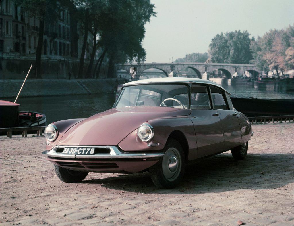 Инновационный Citroen DS 1955 года