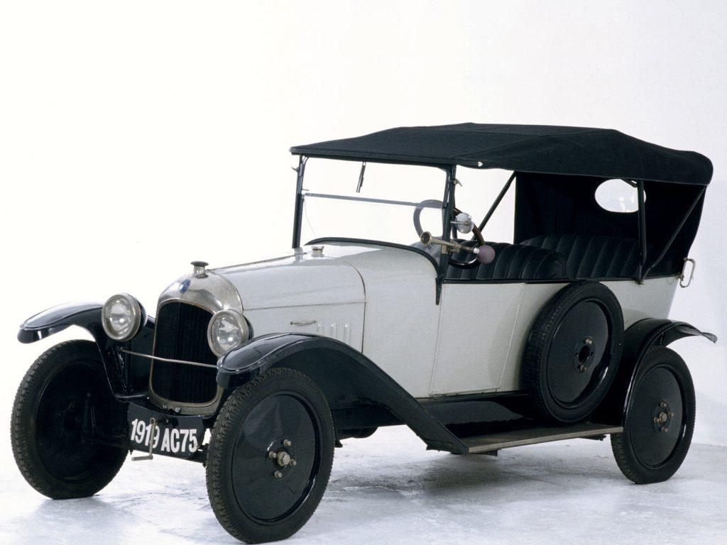 Первенец Citroën Type A 1919 года