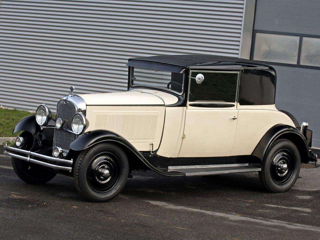 Представительский Citroen C6 1929 года