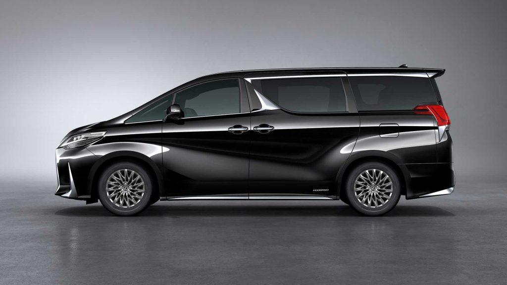 Lexus LM 2019, вид сбоку