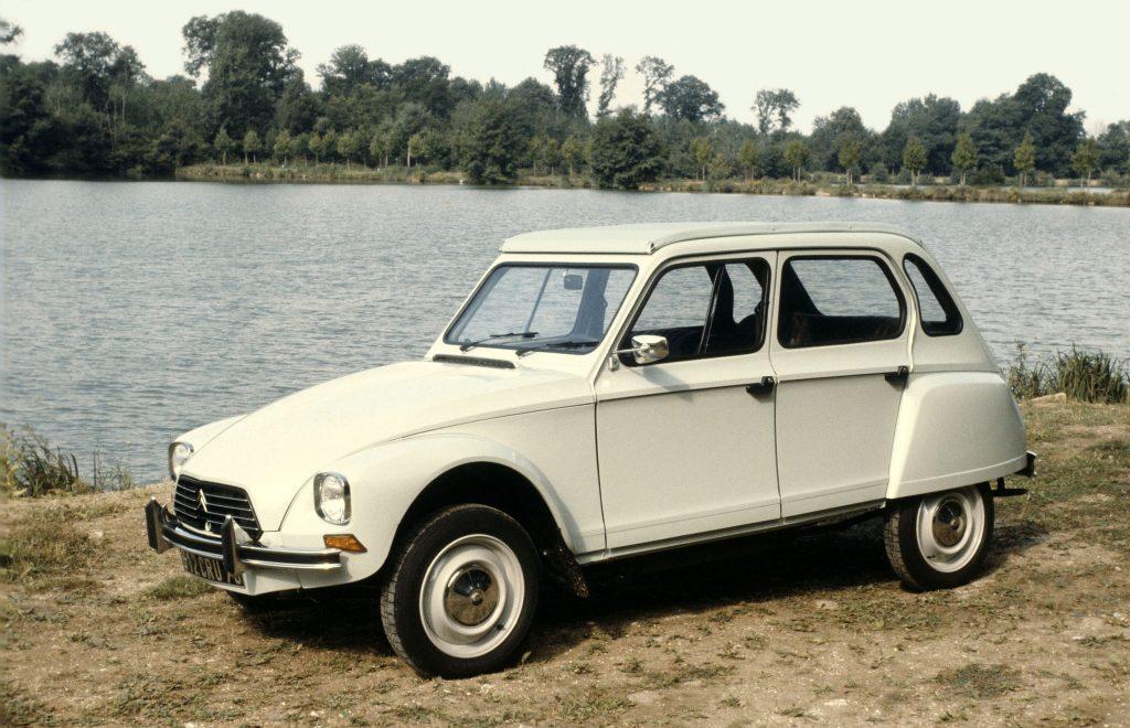 Citroen Dyane 1969 года