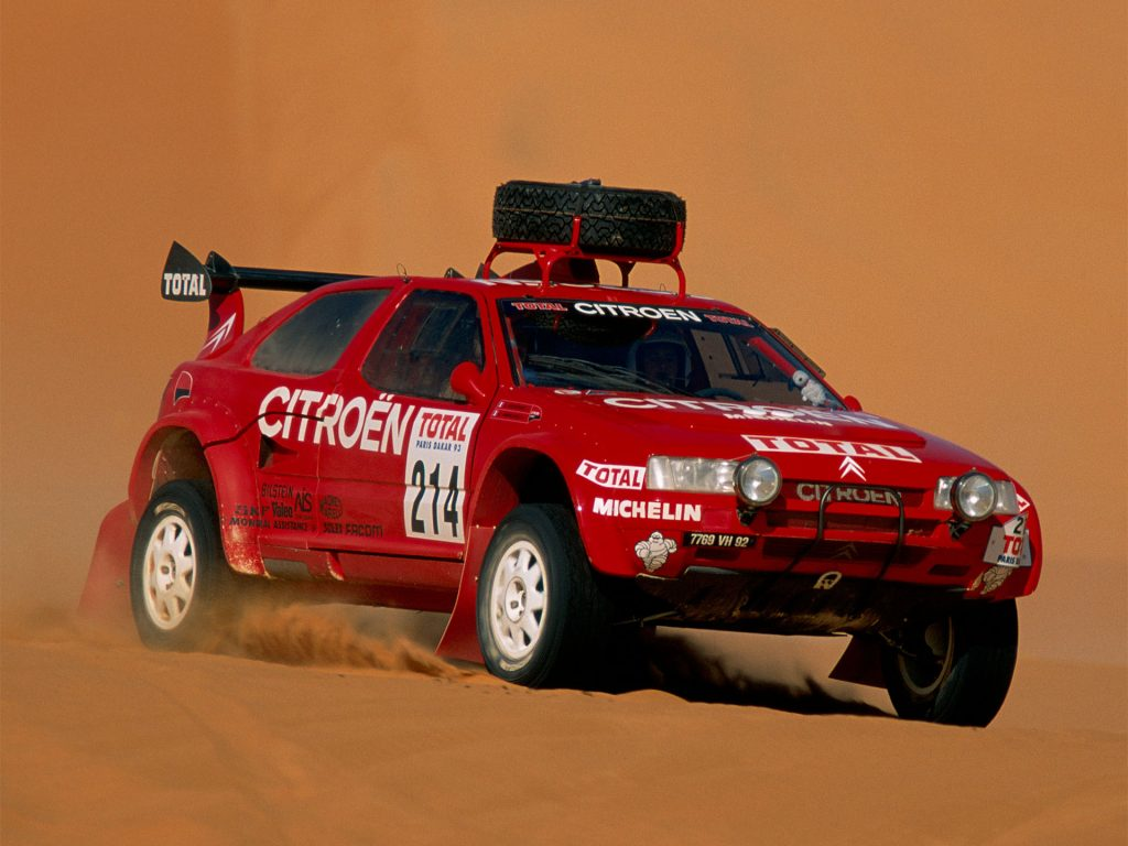 Citroen ZX Rally Raid четырежды побеждал в марафоне Париж-Дакар