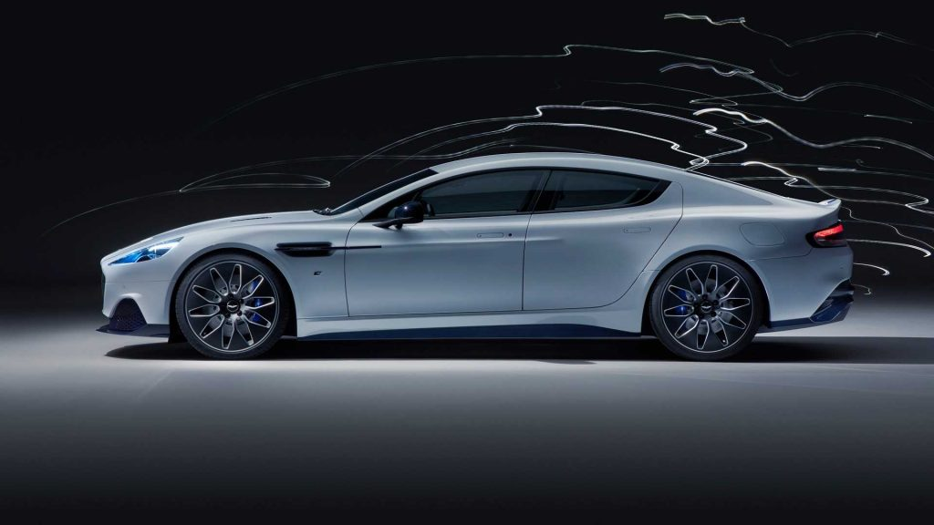 Aston Martin RapidE 2019, вид сбоку