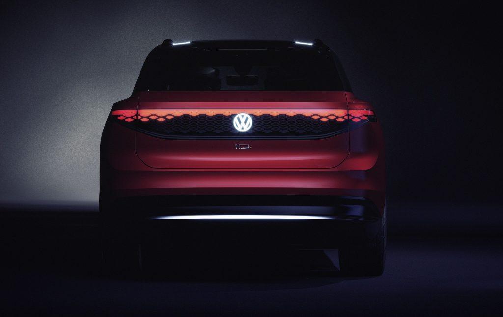 Volkswagen I.D. Roomz 2019, вид сзади