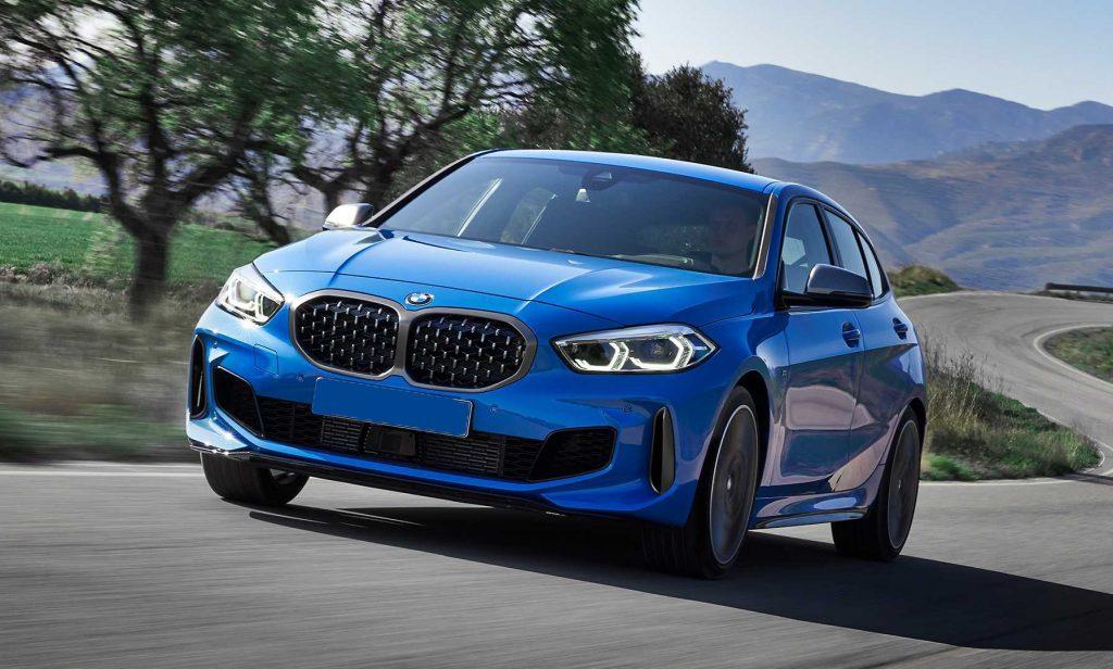 BMW 1 Series 2019, вид спереди