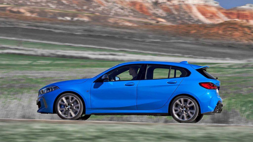 Новый BMW 1 Series, вид сбоку