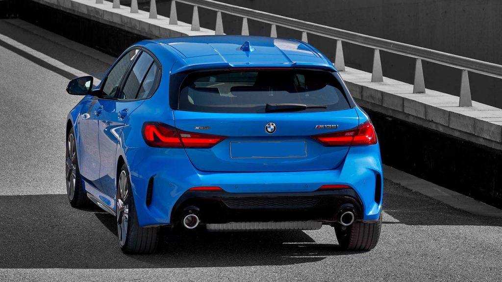 Новый BMW 1 Series, вид сзади