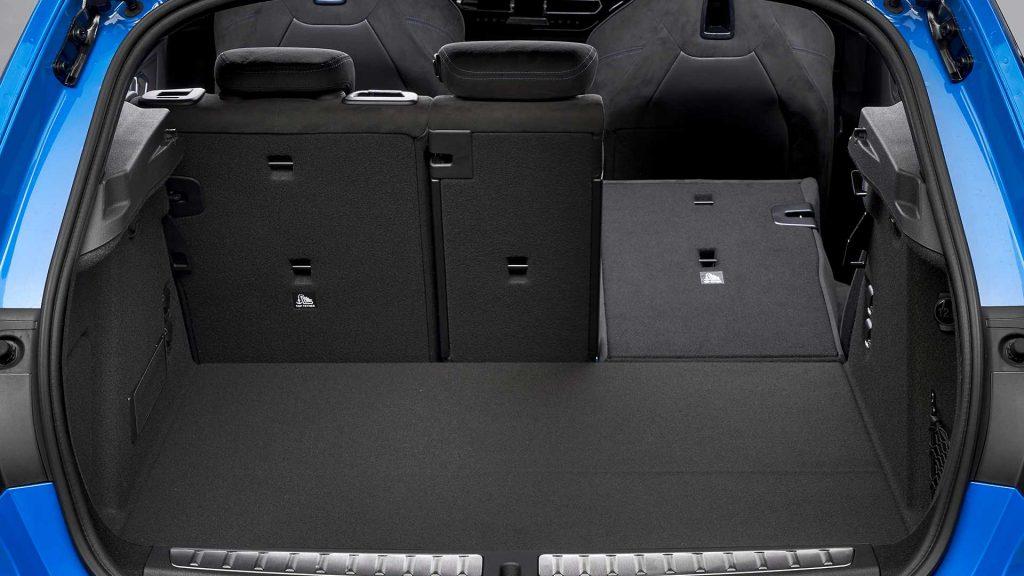 BMW 1 Series 2019, багажник