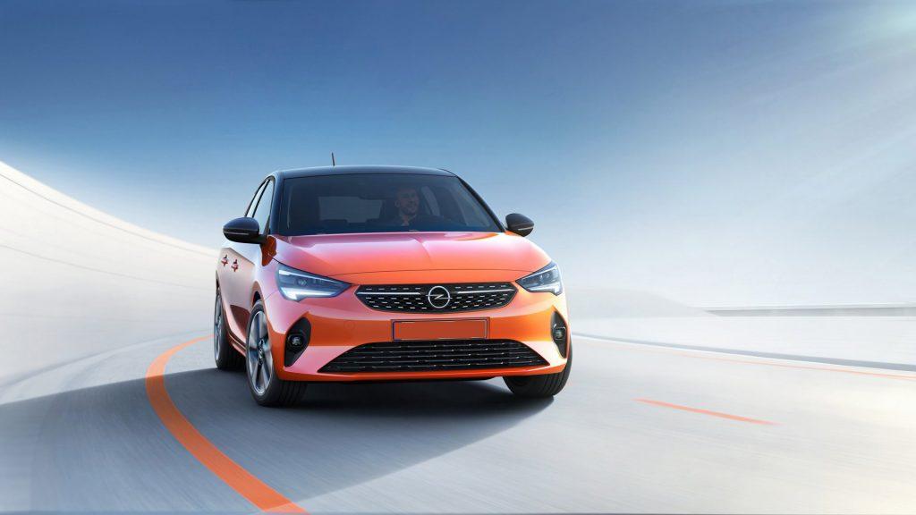 Opel Corsa 2019, вид спереди