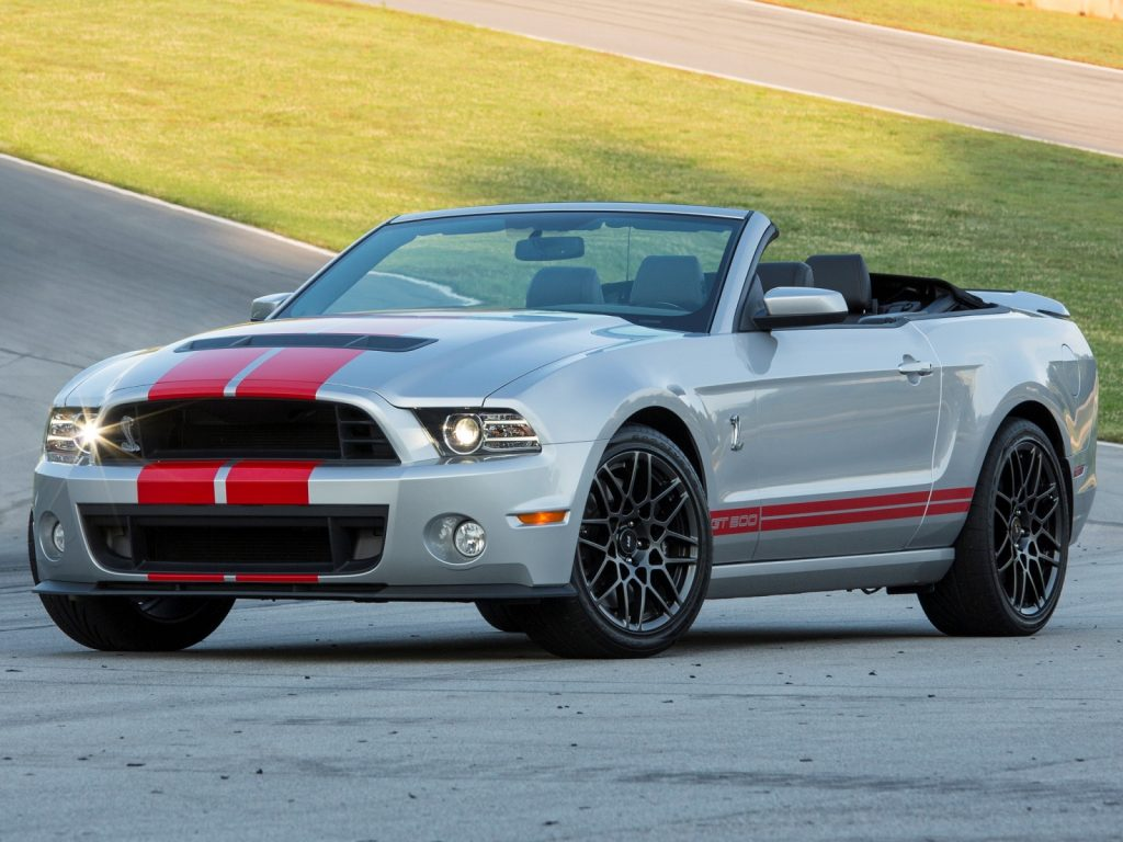 Shelby GT500 Convertible 2013 года