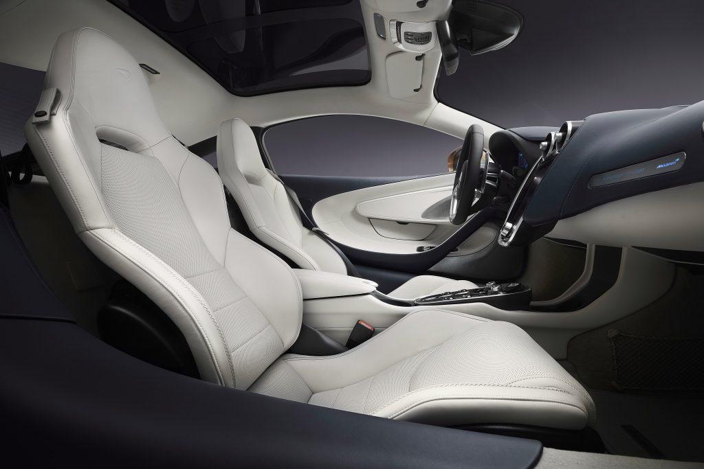 Новый McLaren GT, сиденья