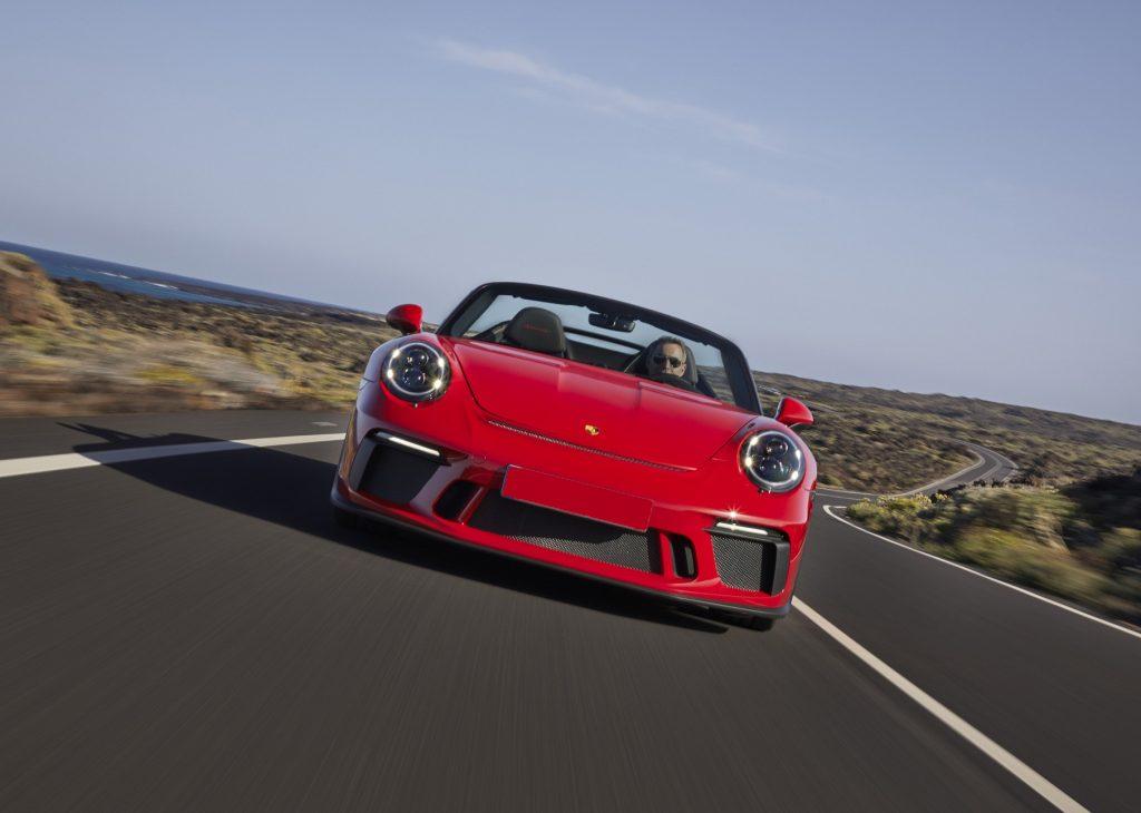 Porsche 911 Speedster 2019, вид спереди