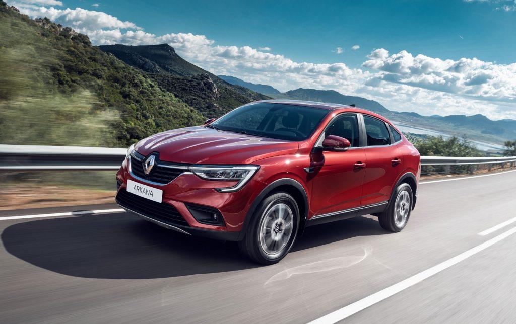 Renault Arkana 2019, вид спереди