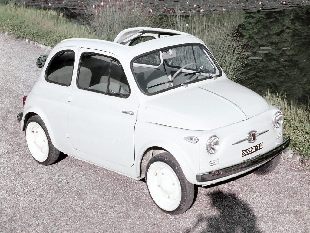 Культовый Fiat 500 1957 года