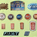 Логотипы Fiat часто менялись