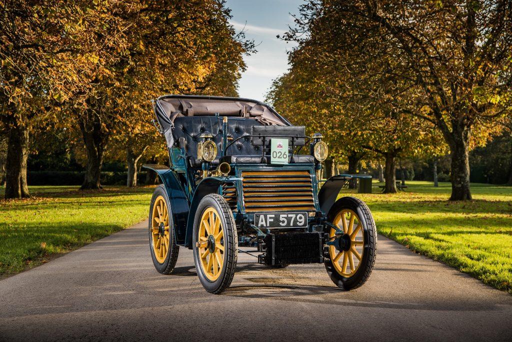 Первый Fiat 3,5 CV 1899 года