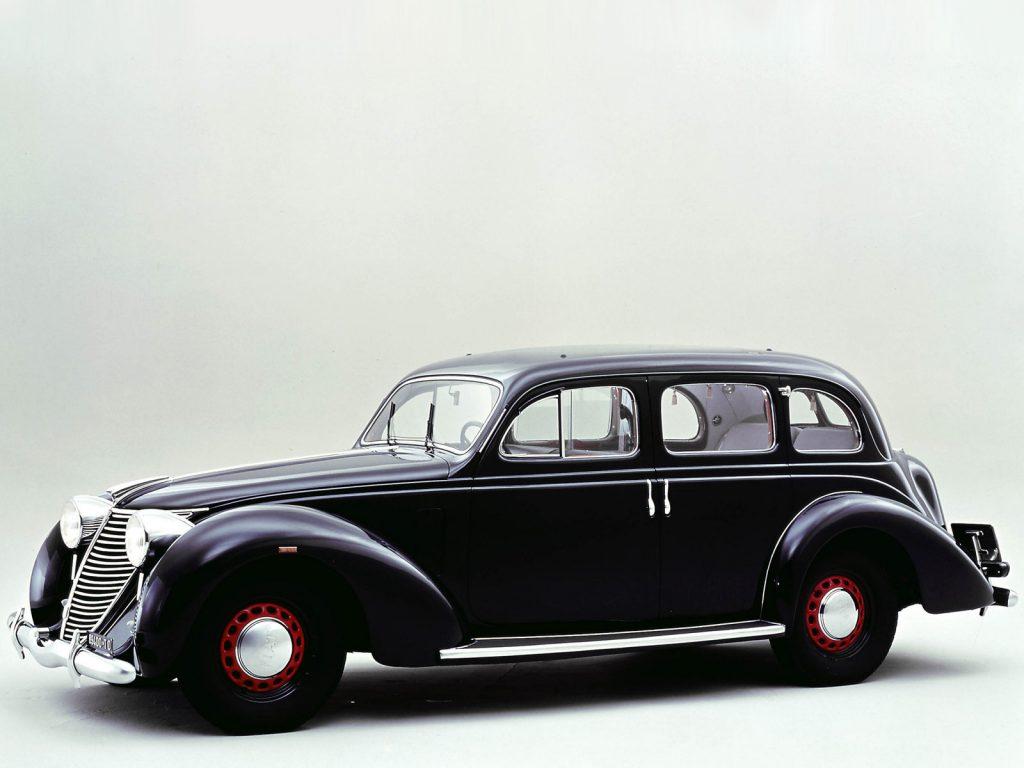 Роскошный Fiat 2800 1938 года