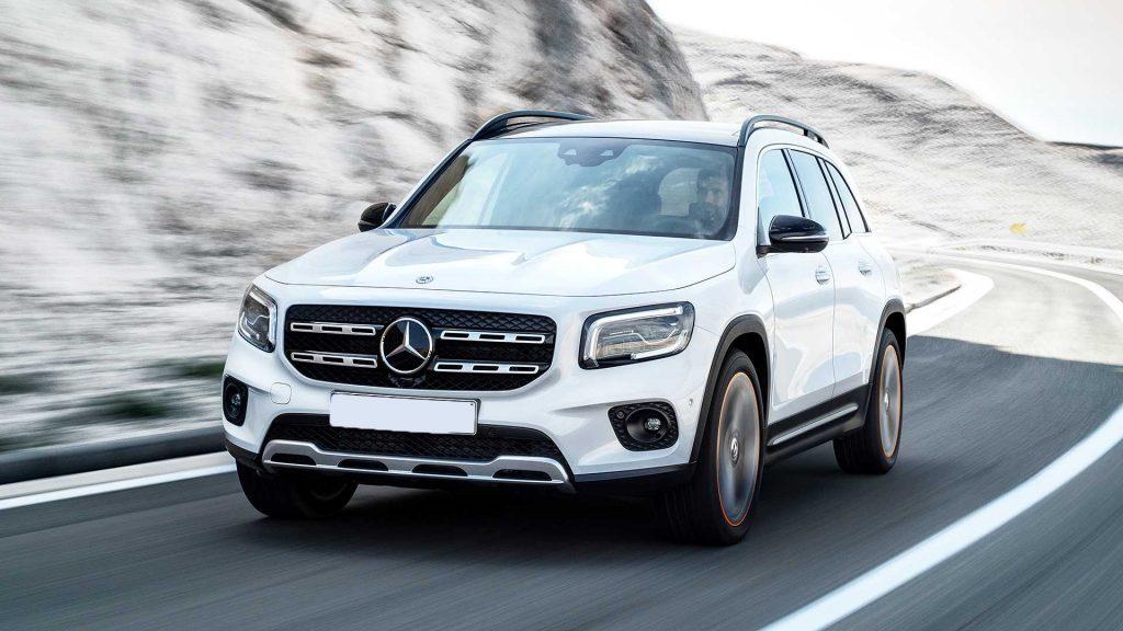 Mercedes-Benz GLB 2019, вид спереди