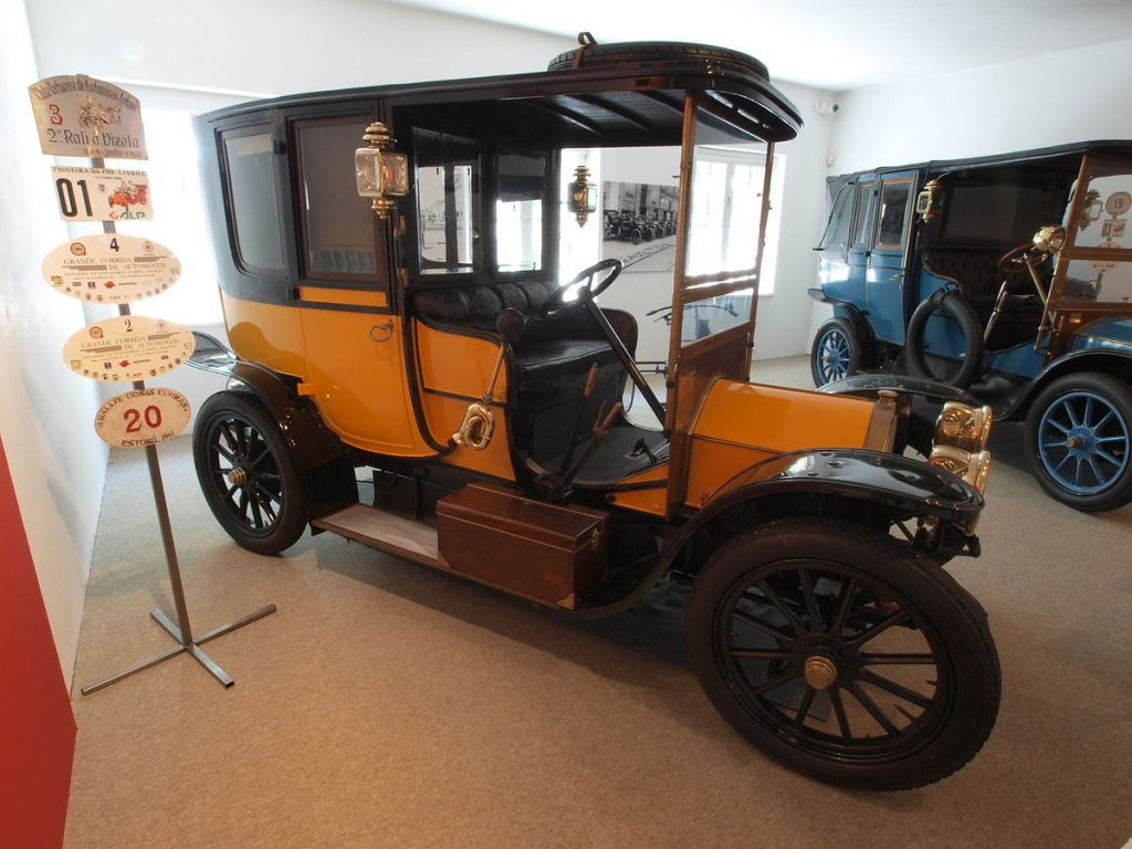 Fiat 1 Fiacre 1908 года