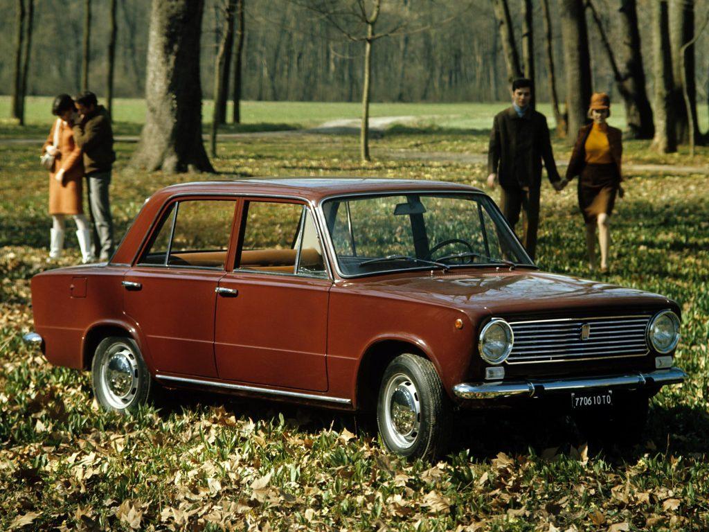 Fiat 124 - итальянский прародитель ВАЗа