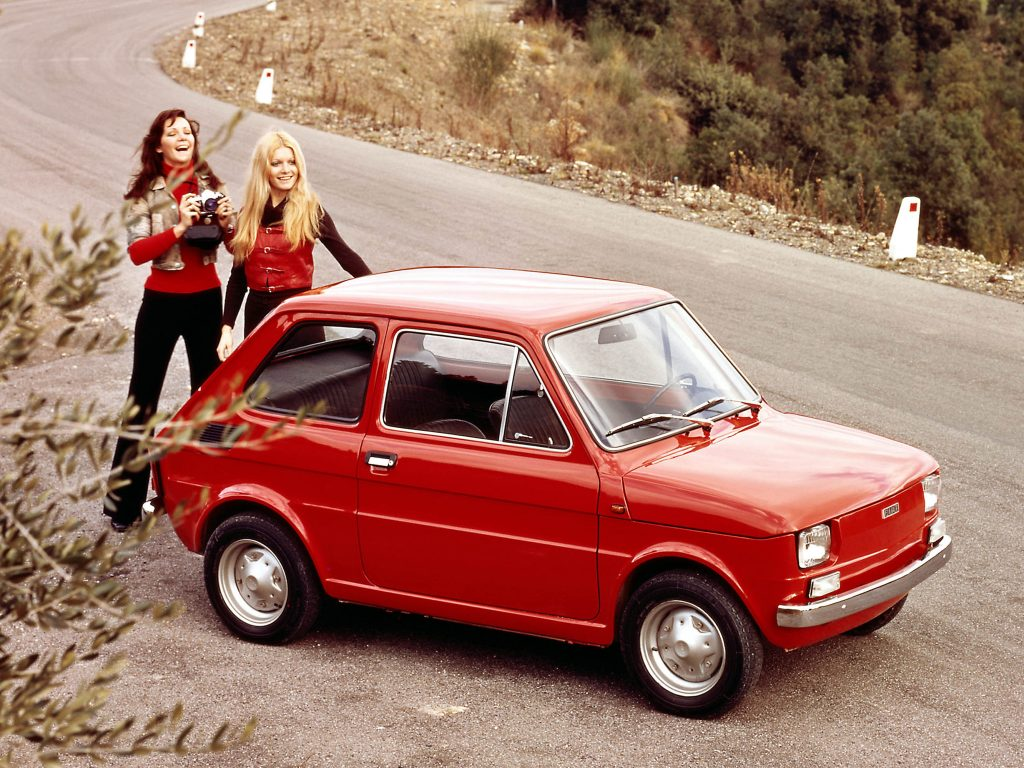Fiat 126 стал культовым авто в Польше