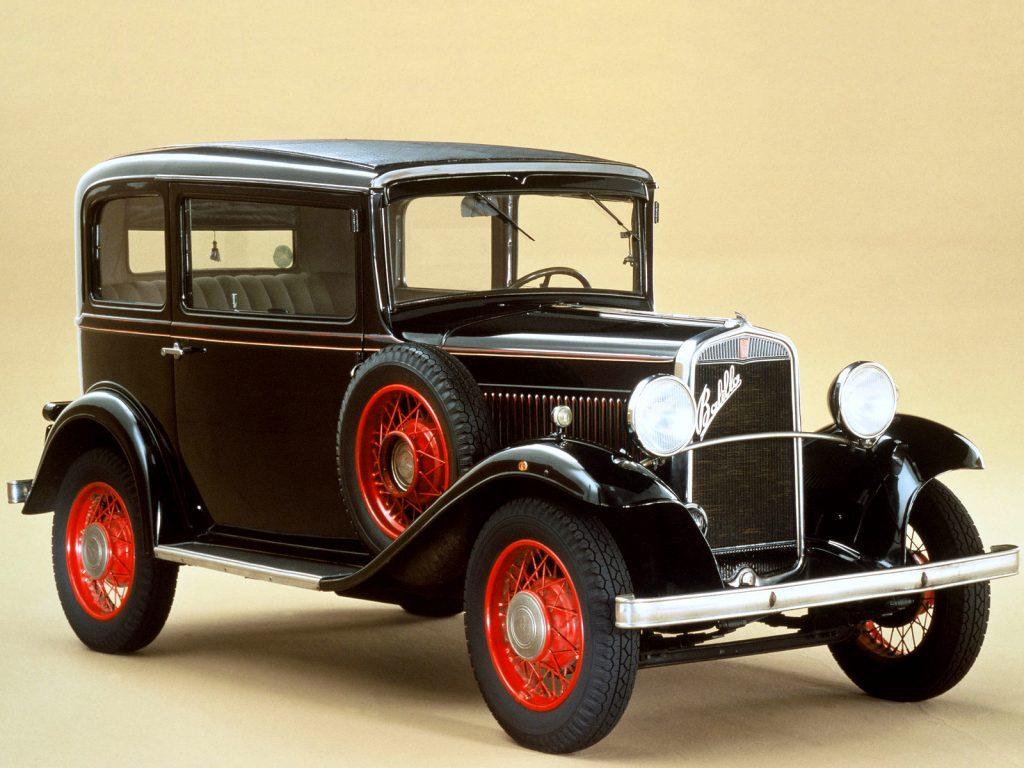 Fiat 508 Balilla 1932 года