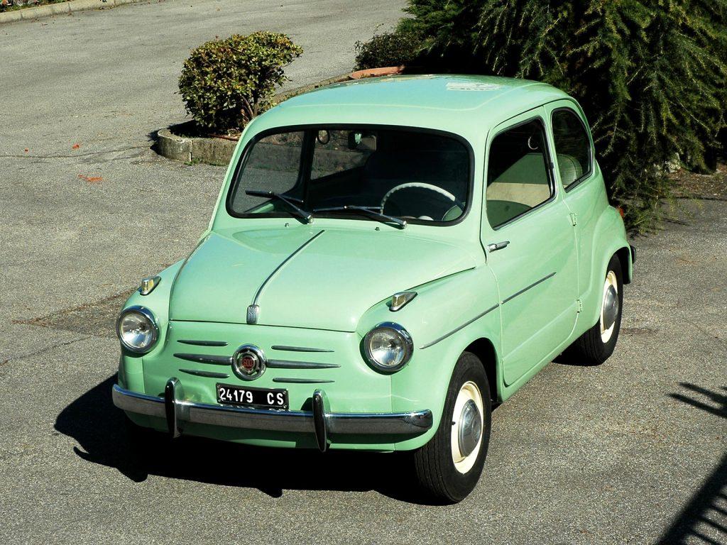 Fiat 600, 1955 год