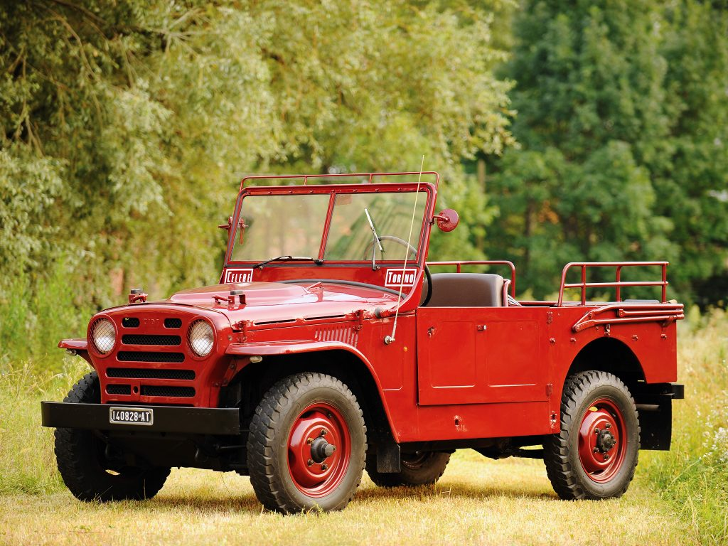 Fiat Campagnola 1951 года - первый вседорожник марки