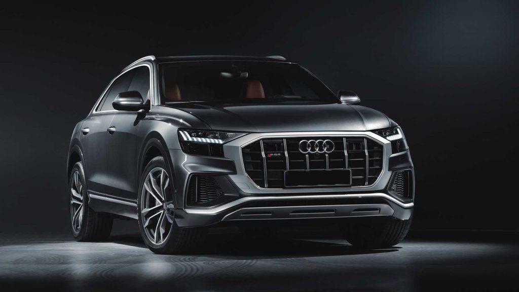 Audi SQ8 2019, вид спереди