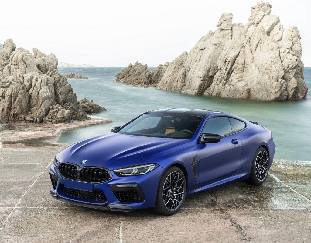 BMW M8 2019, вид спереди