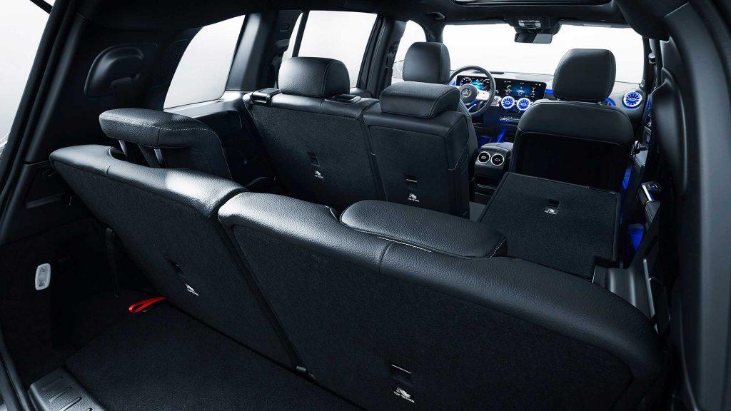 Новый Mercedes-Benz GLB, багажник