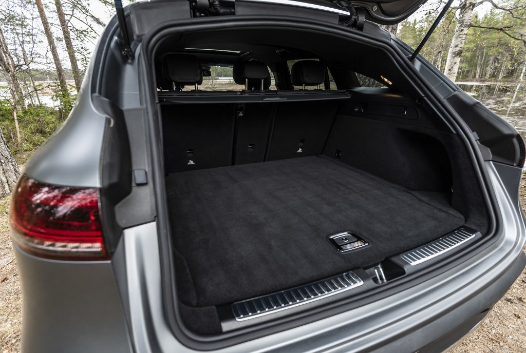 Mercedes-Benz EQC 2019, багажник