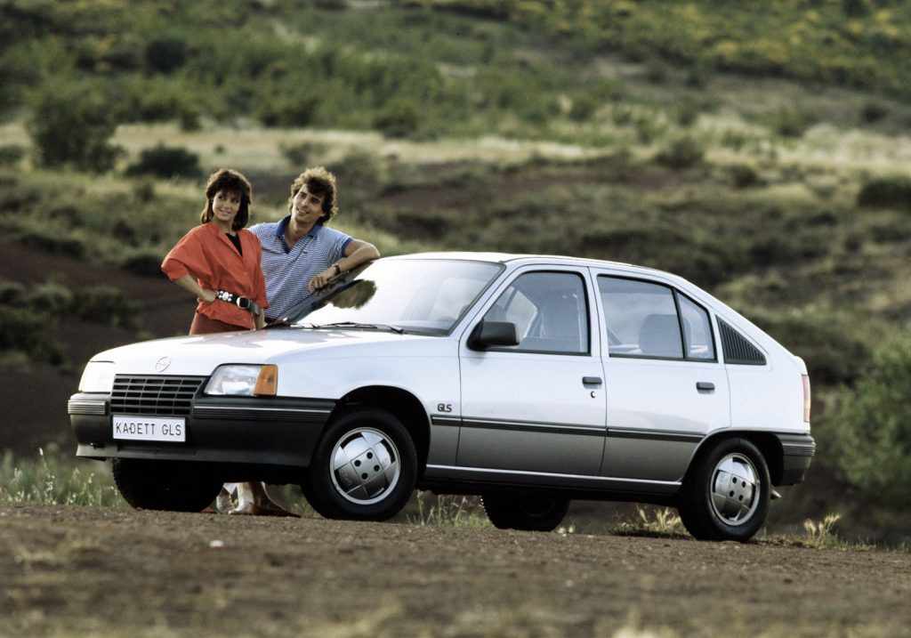 Opel Kadett 1984 года