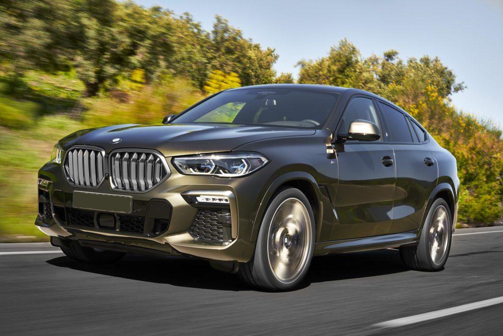 BMW X6 2019, вид спереди