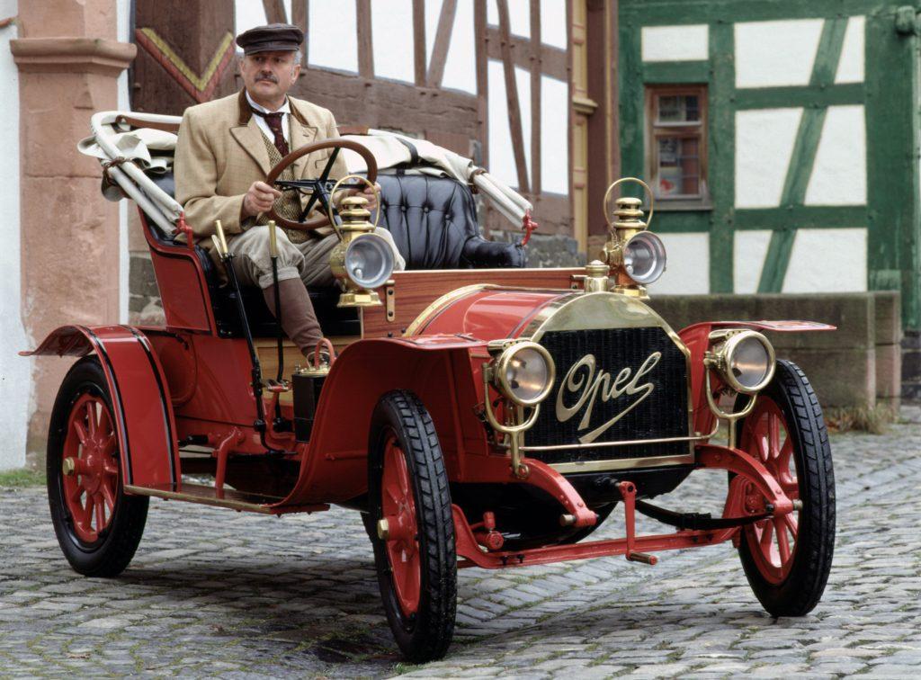 Opel 4-8 PS 1909 года