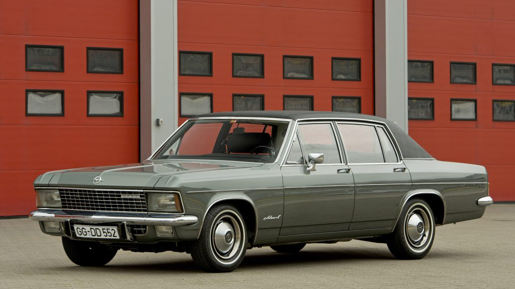 Opel Admiral 1969 года
